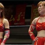 ベストフレンズ藤本つかさと中島安里紗ケジメのシングルマッチ!ついに解散を宣言!