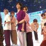 【動画】山田涼介「Mステ」で中島裕翔にセミハグ!JUMPが「ファンファーレ!」披露